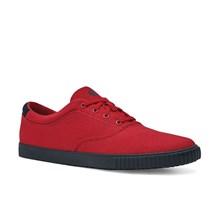 Women's Carter Red Canvas Shoe (CW7321)
