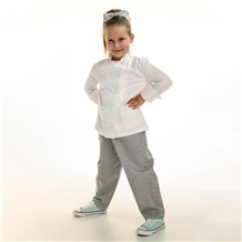 Unisex Kids Ultimate Cotton Chef Pant (CW8200) - Designed and Made for Children