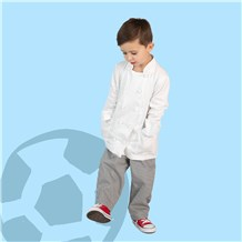 Unisex Kids Ultimate Cotton Chef Pant (CW8200) [Houndstooth]