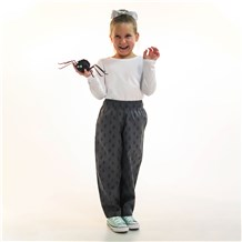 Unisex Kids Ultimate Cotton Chef Pant (CW8200) [Skull Hat]