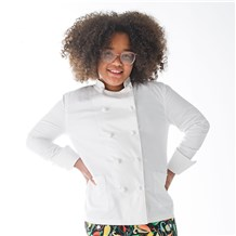 Unisex Kids Long Sleeve Cotton Chef Coat (CW8700) - Designed and Made for Children