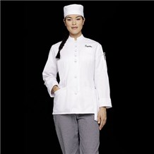 Women's Fashion Chef Coat (ID0105)