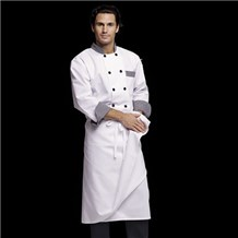 Coed L/S Double Breasted Chef Coat (ID0404)