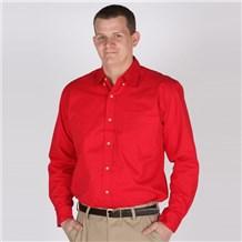 Coed Long Sleeve Twill Shirt (ID0622)