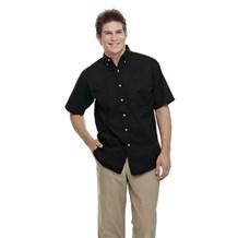 Coed Short Sleeve Twill Shirt (ID0623)