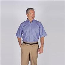 Coed Short Sleeve Oxford (ID4621)