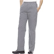 Women's Elastic Waist Chef Pants (ID8311)