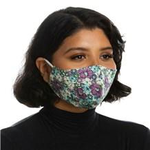 Face Mask (L10001) - Blue Floral - 3 Pack