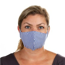 Face Mask (L10001) - Navy - 3 Pack