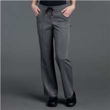 Ponte Panel Front Stretch Pant
