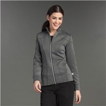 Zip Front Princess Seam Jacket