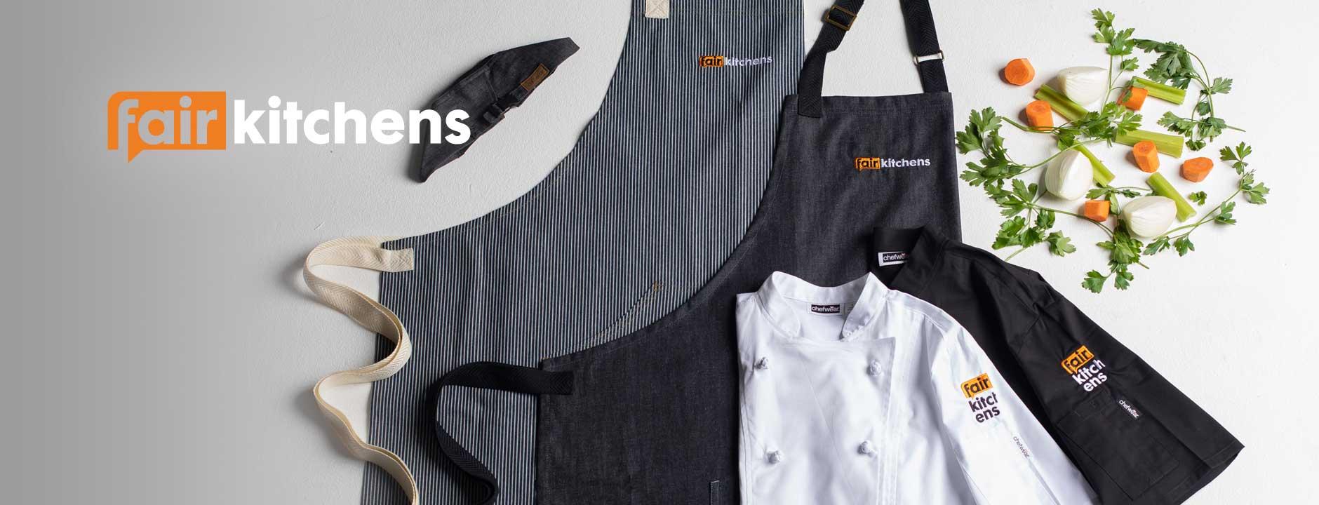 FairKitchens Chefwear Online Store