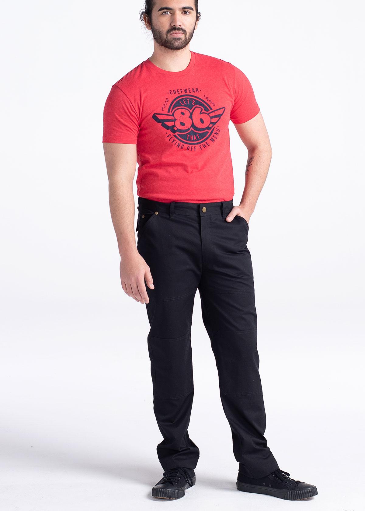 Men's Slim Stretch Twill Chef Pant (CW3522)