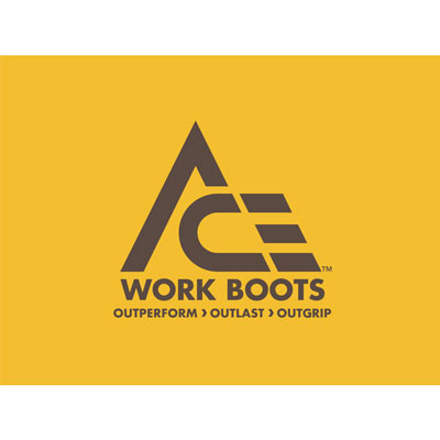 Ace Work Boots Logo