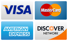 Pay using Visa, Master, American Express and Discovery Cards