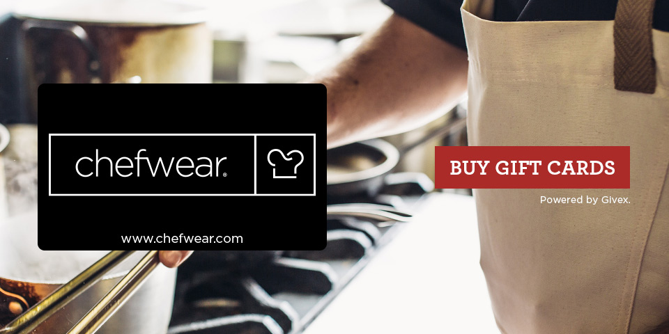 Chefwear Gift Cards for Chefs Cooks
