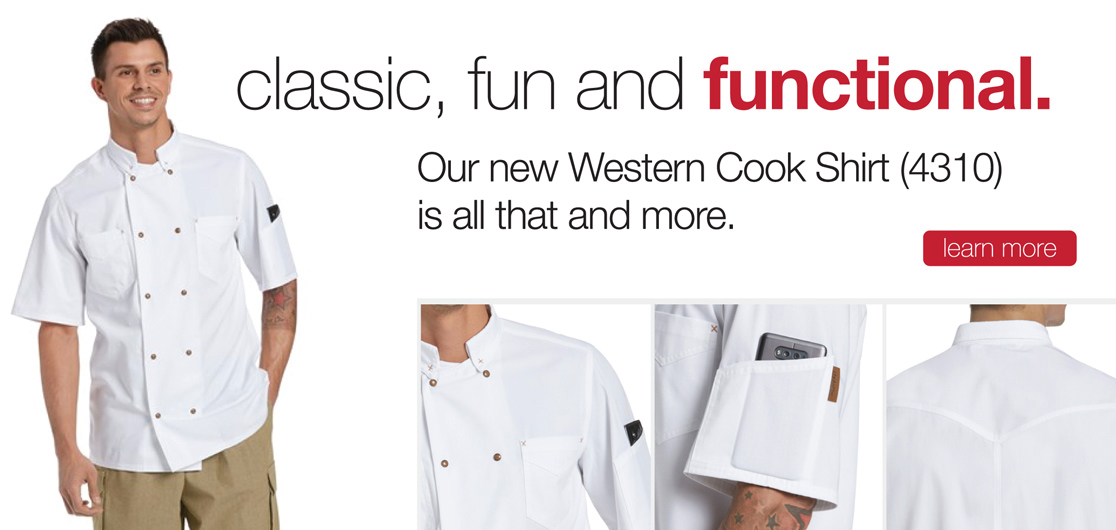 Western Cook Shirt (CW4310)