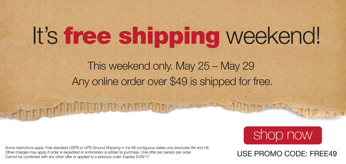 Free Shipping Over $49 Online Order